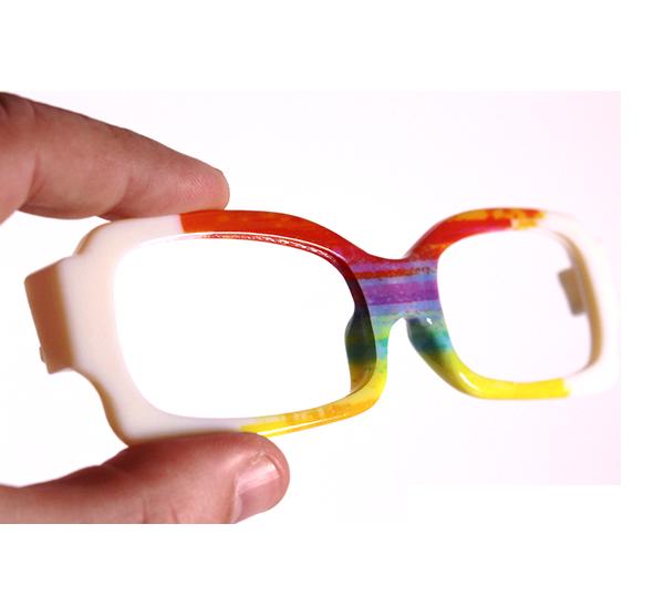 Glasses print