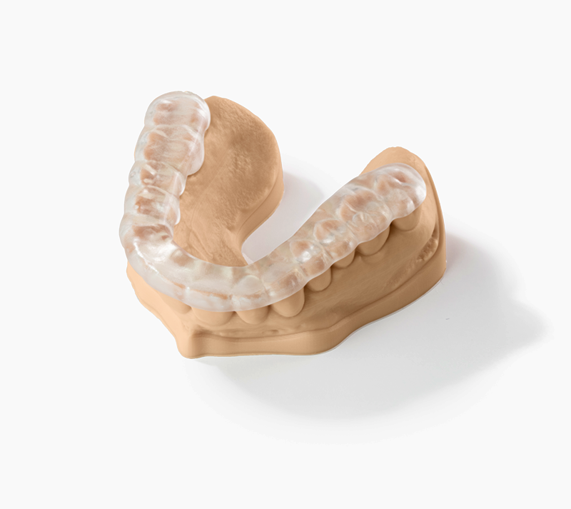 SLA_Dental Model print