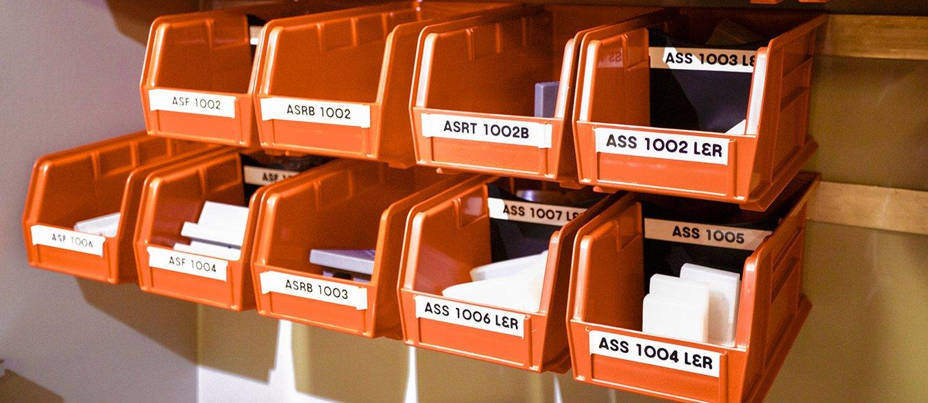 pojemniki na wydrukowane narzędzia