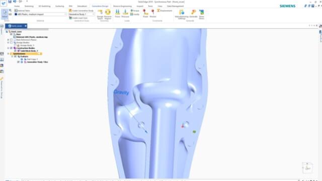 projektowanie protezy w solidedge Shining 3D Edition 6