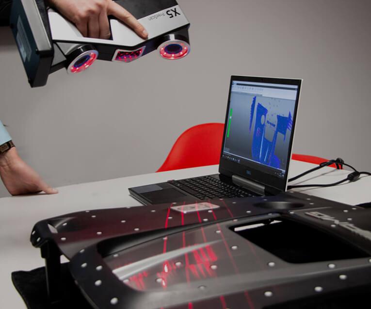 Proces skanowanie 3D
