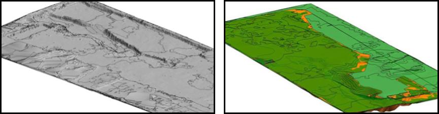 Rekonstrukcja terenu i obliczanie objetosci