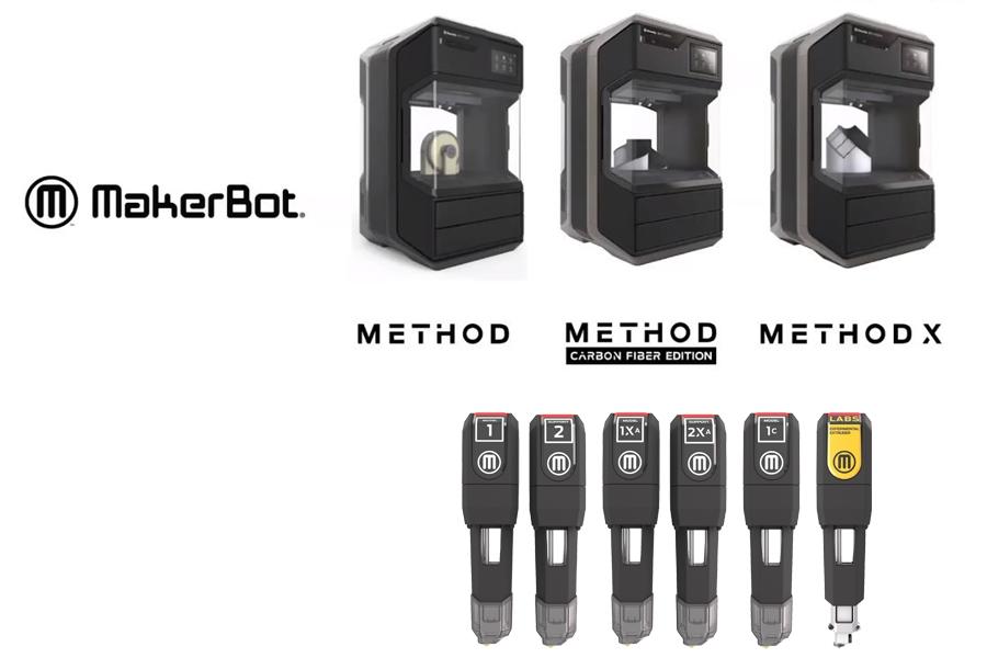 makerbot method seria extrudery